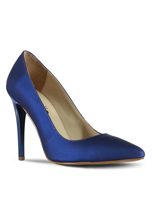 Marjin Stiletto Ayakkabı Saks